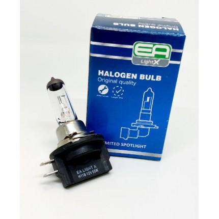 Галогенная лампа EA Light X H11B 12V 55W PGJY19-2 CLEAR