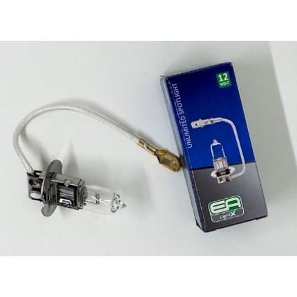 Галогенная лампа EA Light X H3 12V 55W PK22S CLEAR