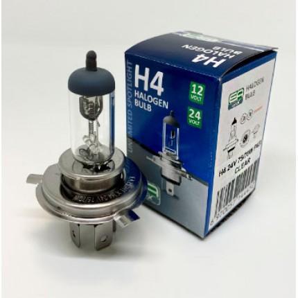 Галогенная лампа EA Light X H4 24V 75/70W P43t CLEAR