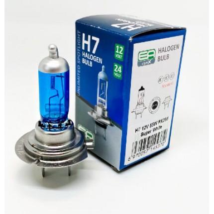Галогенная лампа EA Light X H7 12V 55W PX26d SUPER WHITE