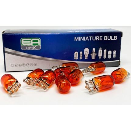 Галогенная лампа EA Light X WY5W T10 12V 5W YELLOW