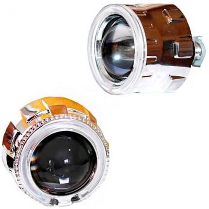 Комплект биксеноновых линз EA Light X G-5 2.5 с Ангельскими глазами