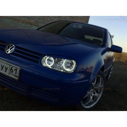 Ангельские глазки CCFL SVS VW Golf 4