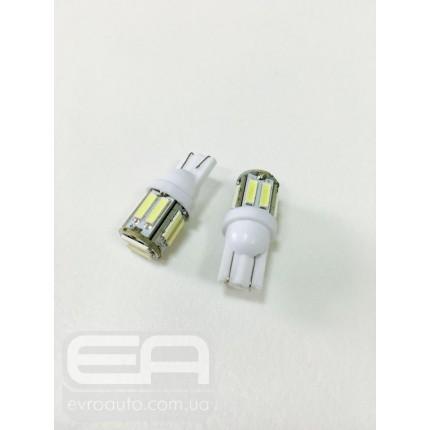 Светодиодная лампа T-10 10SMD 7014