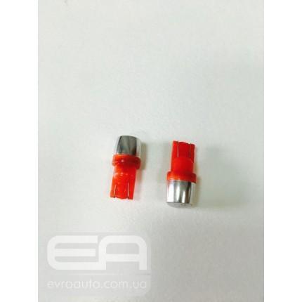 Светодиодная лампа T-10 cob красный