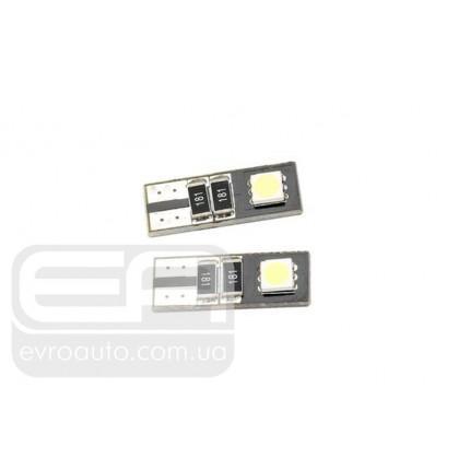 Светодиодная лампа SVS W5W 2SMD 1