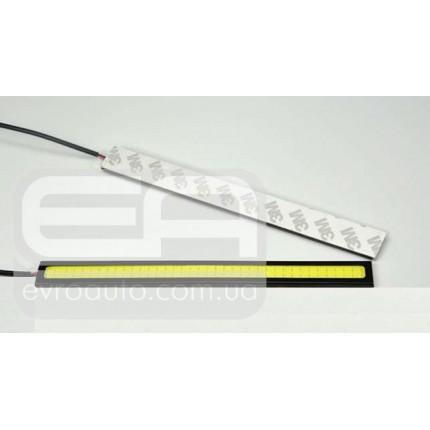 Дневные ходовые огни (DRL) EA Light X COB LED 14см, пластик