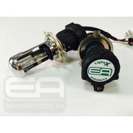 Лампа биксенон LightX H4 6000K 12V 35W (P43t)
