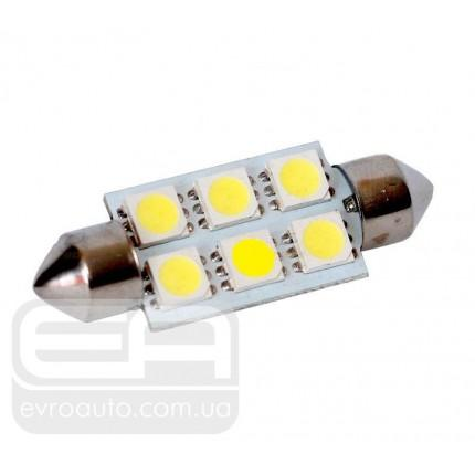 Софитная светодиодная лампа SVS SJ-36 6SMD 36 мм