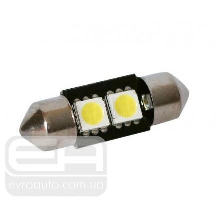 Софитная светодиодная лампа SVS T10-31 2SMD 31 мм