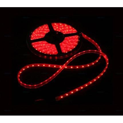 Светодиодная влагозащищенная лента SVS 60 LED 3528-SMD Красная