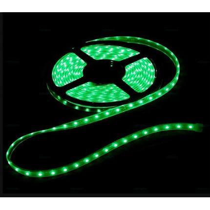 Светодиодная влагозащищенная лента SVS 60 LED 3528-SMD 12V Зелёная