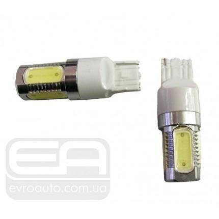 Светодиодная лампа сверхъяркая SVS T20SC4-5x1.5W(7443) 12-24V