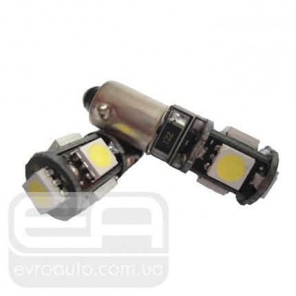 Светодиодная лампа SVS BA9S 5SMD с модулем обманки