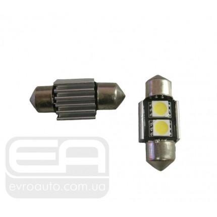Светодиодная лампа SVS C5W 2SMD