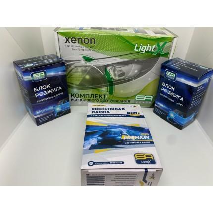 Комплект ксенона EA Light X 35W H3 4300K AC с керамикой