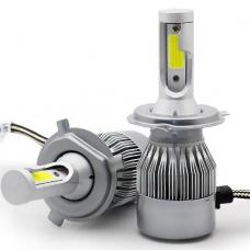 Комплект LED ламп EA Light X C6 WY H4 Hi/Low 6000K 3800Lm
