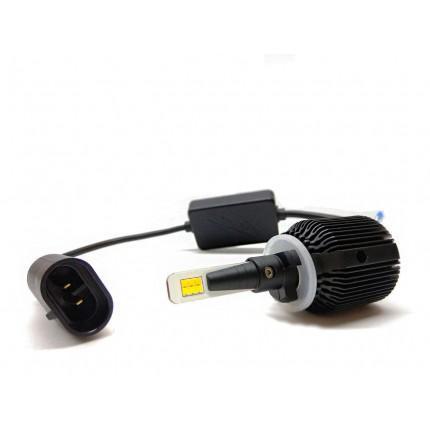 Комплект LED ламп EA Light X M1 H27 5000K 4500Lm CSP