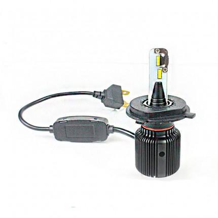 Комплект LED ламп EA Light X M1 H4 H/L 5000K 4000Lm CSP