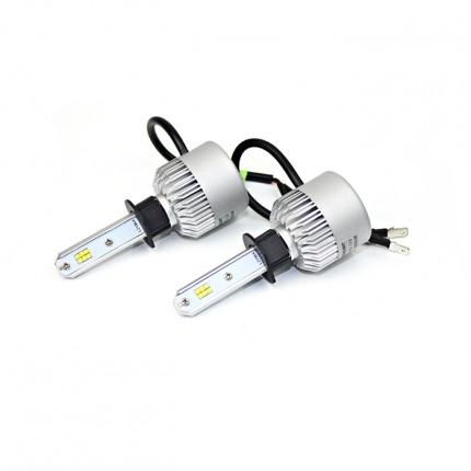 Комплект LED ламп Led Headlight S2 CSP H1 12V-36V 32W 5000K 8000Lm
