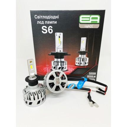 Комплект LED ламп EA Light X S6 H-3 12V-36V 30W 5000K 8000Lm