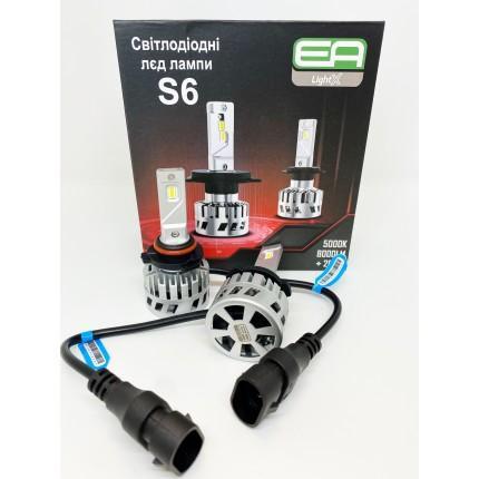 Комплект LED ламп EA Light X S6 HB4 (9006) 12V-36V 30W 5000K 8000Lm