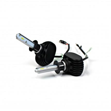 Комплект LED ламп Led Headlight S1 CSP H-27 5000K 4000Lm