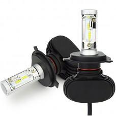 Комплект LED ламп Led Headlight S1 CSP H4 H/L 5000K 4000Lm