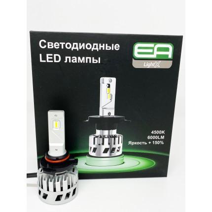 Комплект LED ламп EA Light X S4 HB3 (9005) 12V-36V 32W 4500K 8000Lm