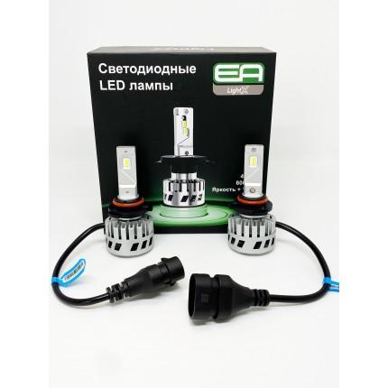 Комплект LED ламп EA Light X S4 HB4 (9006) 12V-36V 32W 4500K 8000Lm