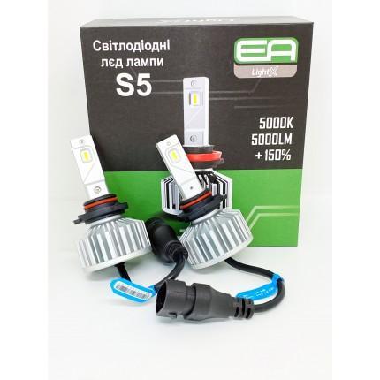 Комплект LED ламп EA Light X S5 HB3 (9005) 5000K 4000Lm