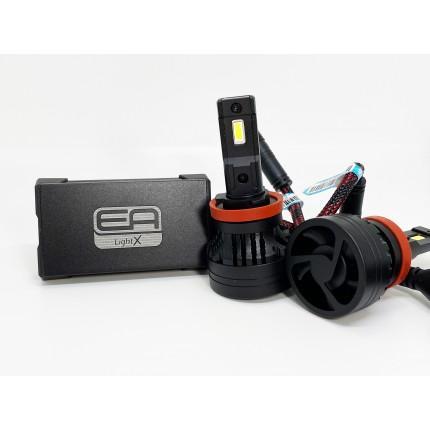 Комплект LED ламп EA Light X X9 H11 6500K 10000Lm с модулем обманки