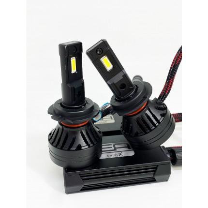 Комплект LED ламп EA Light X X9 H7 6500K 10000Lm с модулем обманки