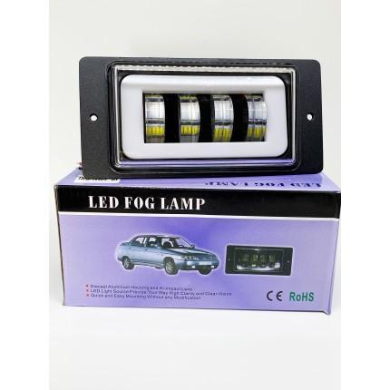 Комплект светодиодных противотуманных фар LED ВАЗ 2110-2115 40W + ДХО (ходовой огонь)