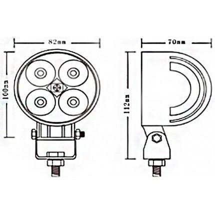 Светодиодная балка EA Light X 32012 12W