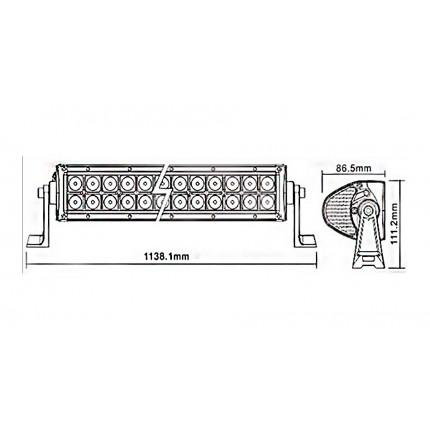 Светодиодная балка EA Light X C3 240W Дальний/Комбо