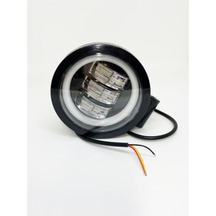 Комплект светодиодных балок  JR-O-30W+ДХО круг
