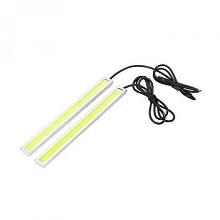 Дневные ходовые огни (DRL) EA Light X COB LED 14см, алюминий