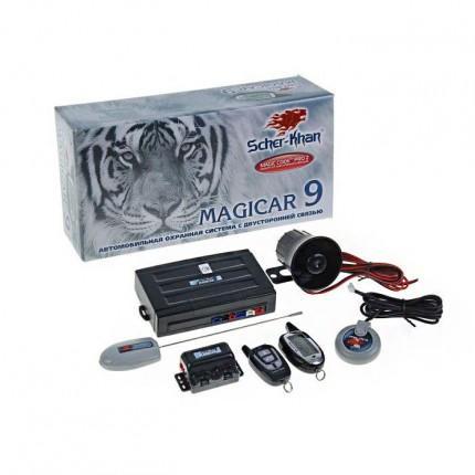 Автосигнализация с CAN-модулем Scher-Khan MAGICAR 9