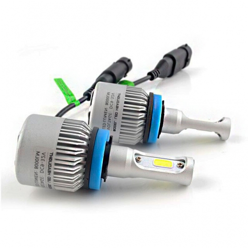 Комплект LED ламп Led Headlight S2 CSP H11 5000K 8000Lm